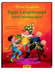 Kinderbücher Weihnachten.Pippi Langstrumpf Feiert Weihnachten Bilderbuch Astrid Lindgren