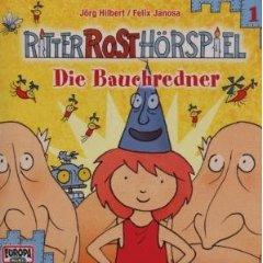 ritter rost folge 1 - die bauchredner - hörspiel für kinder auf cd jörg hilbert/felix janosa