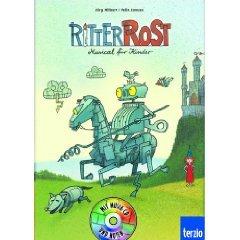 ritter rost band 1 - musical für kinder - kinderbuch mit cd  hilbert / janosa  - kinderbuch