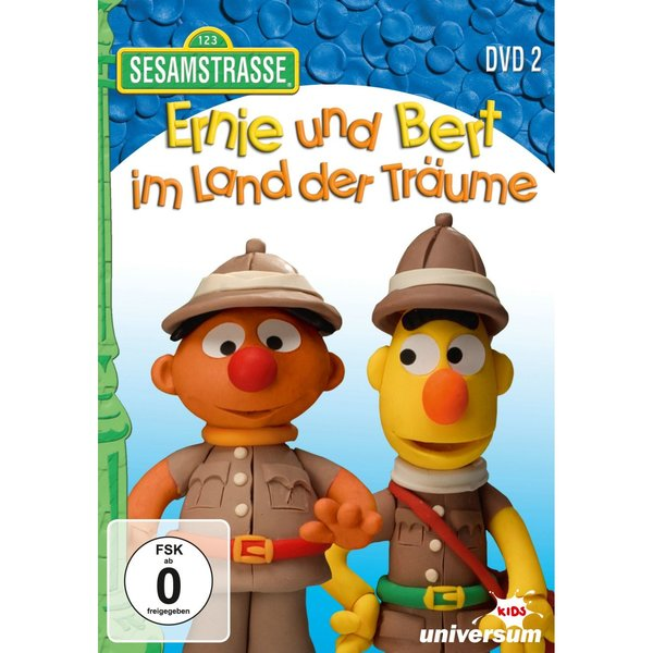 ernie und bert im land der tr ume dvd 2 kinderbuch. Black Bedroom Furniture Sets. Home Design Ideas