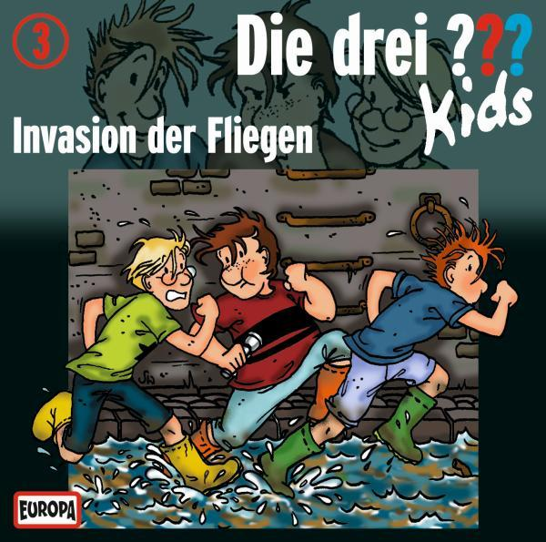 Drei kids folge 3 invasion der fliegen h rspiel for Die klassiker der kuche 3