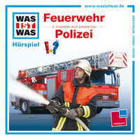 was ist was feuerwehr polizei cd kinderbuch. Black Bedroom Furniture Sets. Home Design Ideas