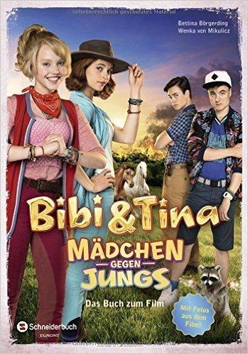 bibi und tina - mädchen gegen jungs - buch - kinderbuch, kinderbücher, kinderhörspiele